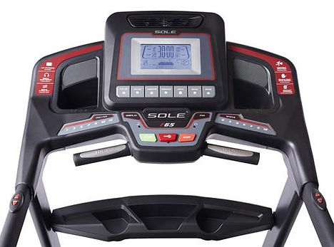 Sole F65 Treadmill Console and Handgrip pulse