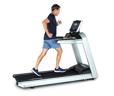 Landice L9 Treadmill made in the USA with male mdel
