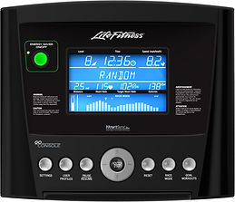Life Fitness GO console