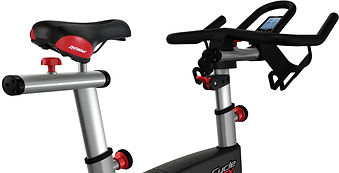 Life Fitness GX Exercise Bike handle bars andsaddle