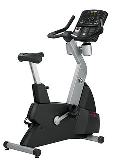 Life Fitness Club self generating upright bike