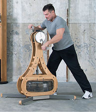 Nohrd WaterGrinder with male model staning up using both arms