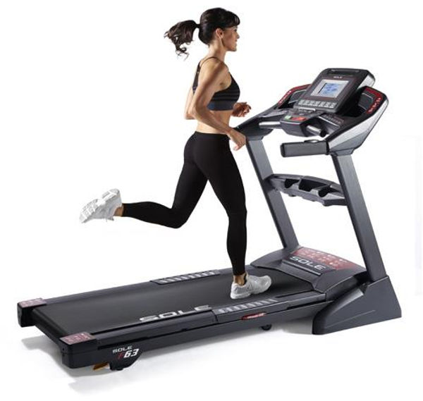 Sole F63 Treadmill with Female Runner