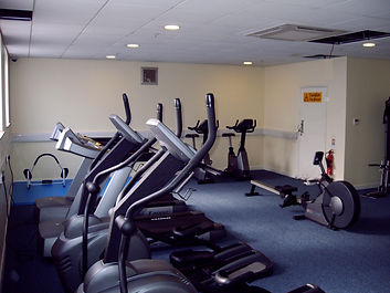 Completed installation of fitness equipment at Mar Foods