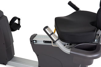 Spirit CR800 Recumbent Bike handgrip pulse