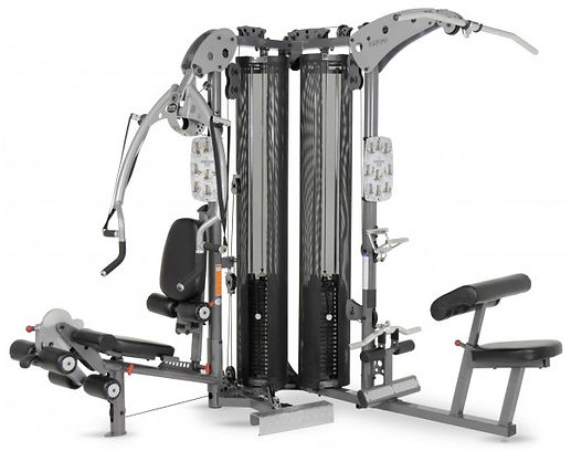 Inspire M5 Gym showing both workout stations