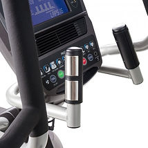 Spirit XE895 Adjustble Stride Elliptical  handgrip pulse