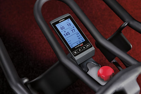 Life Fitness GX Exercise Bike computer console