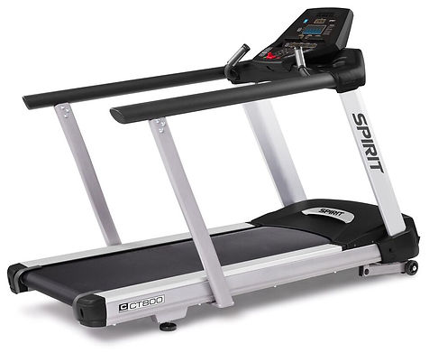 Spirit CT800 Treadmill with extended handrails