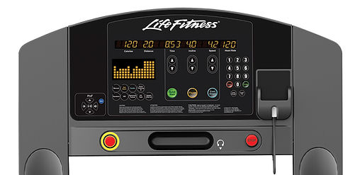 Life Fitness Club console