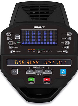 Spirit SC800 Stepper console
