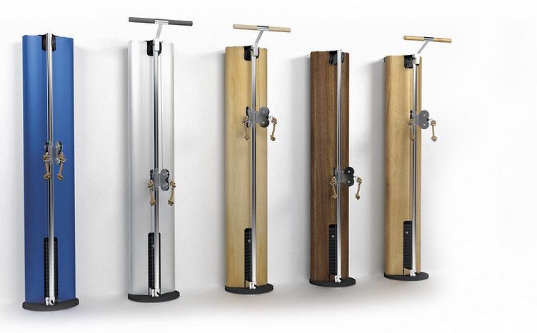 Nohrd Slimbeam in th various wood finishes