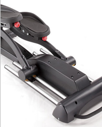 Sole E95 Elliptical Crosstrainer dual rails that provides a more stable workout