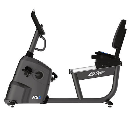 Life Fitness RS1 Recumbent Lifecycle side view
