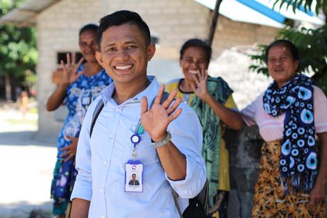 Mukekuku,_Indonesia.Demi,_a_loan_officer