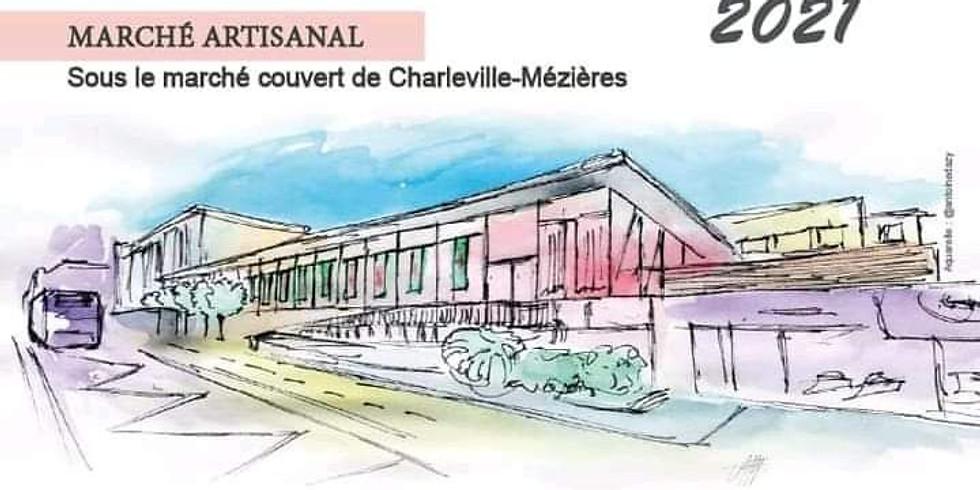 Expo sous la halle Charleville-Mézières