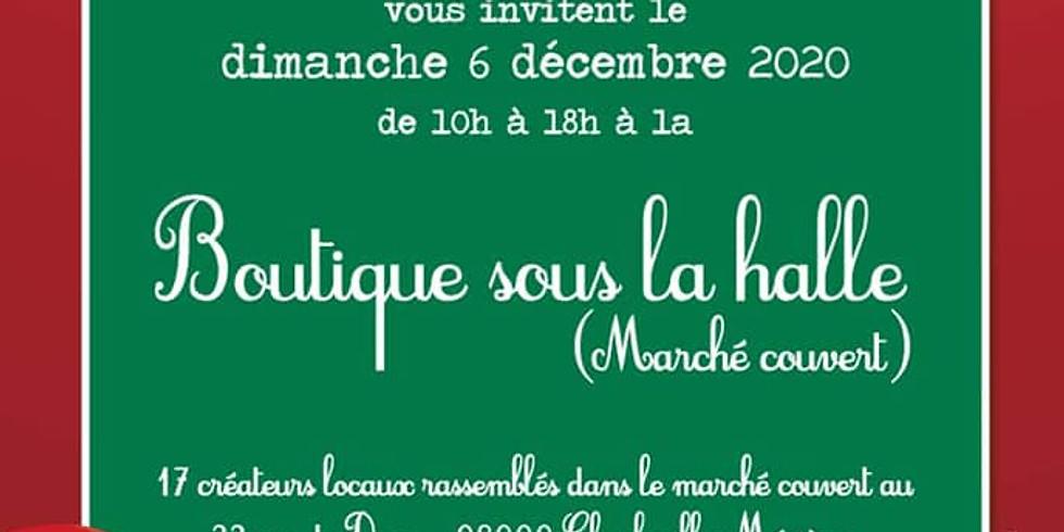 MARCHE DE NOEL HALL DU MARCHE COUVERT A CHARLEVILLE- MEZIERES