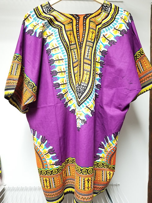 IAmShe Traditional Dashiki Purple