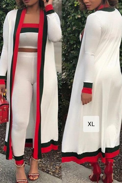 IAmShe Two-piece Pants Set(With Coat)
