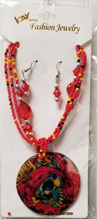 IAmShe Fashion Beaded Necklaces W/Earrings