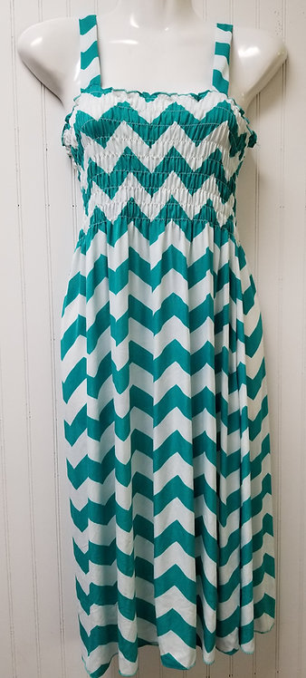 IAmShe ZigZag Springtime Dress L/XL One Size Fits