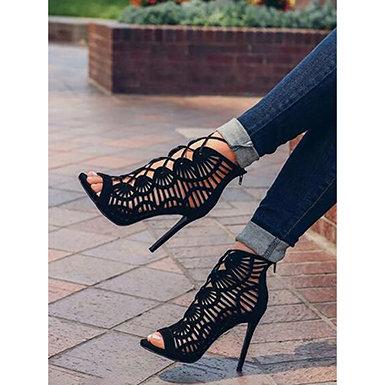IAmShe Gladiator Stiletto Heels