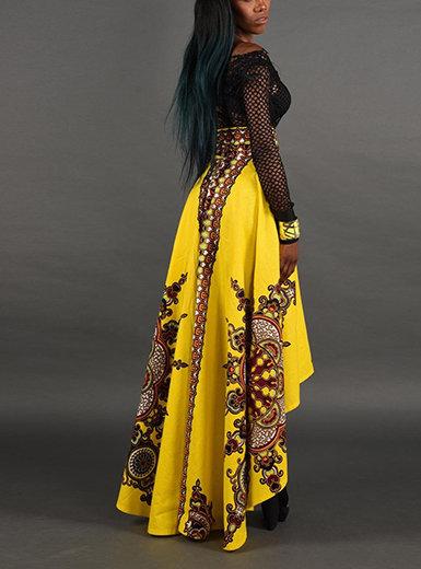 IAmShe Women's 2 Piece Dress - Mullet Cut Skirt (Top Not Included)