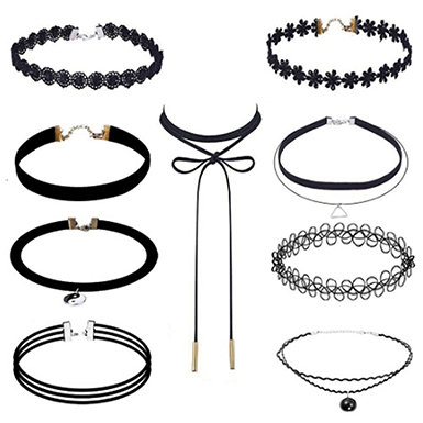 IAmShe Choker Necklaces
