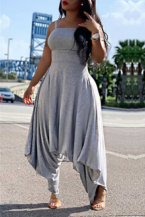 IAmShe Grey Loose Jumper