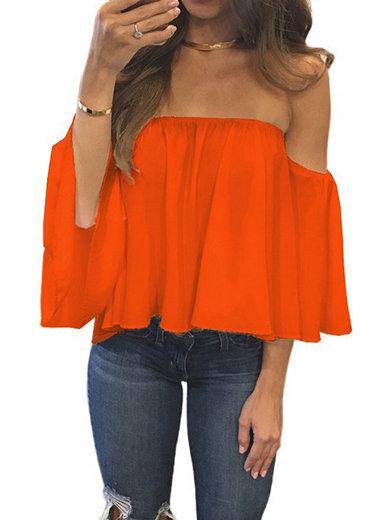 IAmShe Drape Style Casual Pullover Blouse
