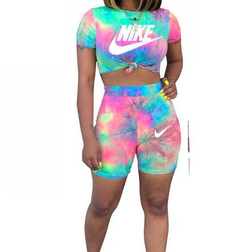 IAmShe Two Piece Printed Short Set