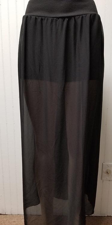 IAmShe Sheer High Waist Maxi Skirt