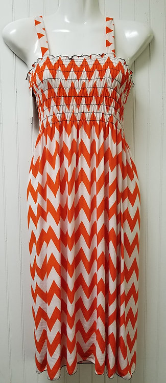 IAmShe ZigZag Springtime Dress M/L One Size Fits