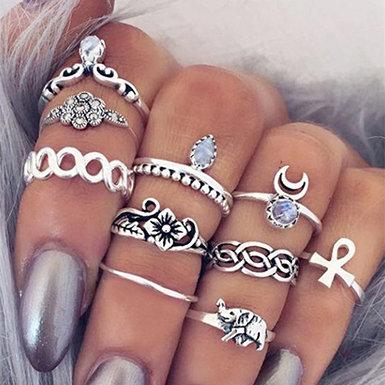 IAmShe Fashion Knuckle Rings