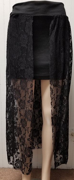 IAmShe Lace High Waist Maxi Skirt