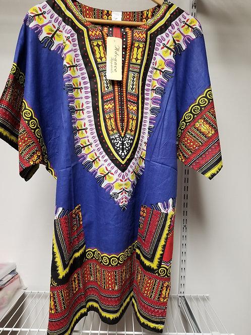 IAmShe Traditional Dashiki Royal Blue