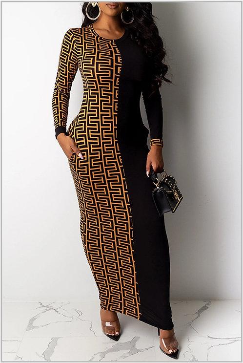 IAmShe Casual Ankle Length Dress