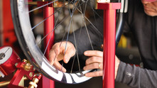 We proudly practice the dying art of custom wheel building
