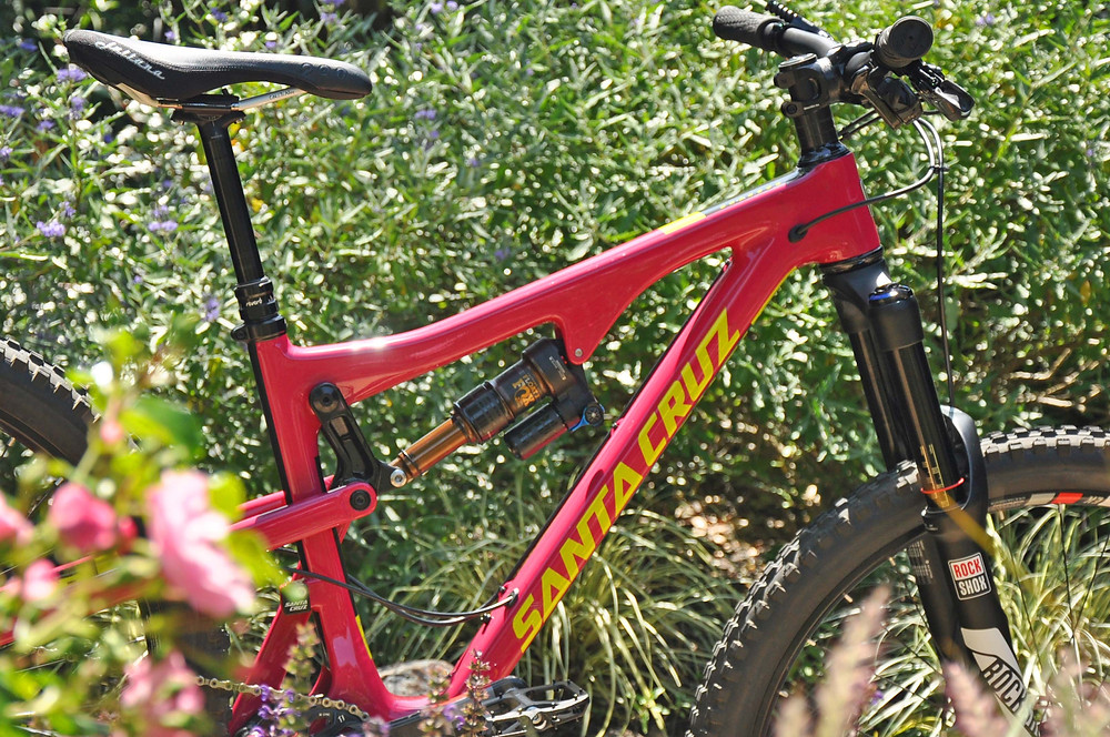 A mountain-proofed Santa Cruz Bronson CC