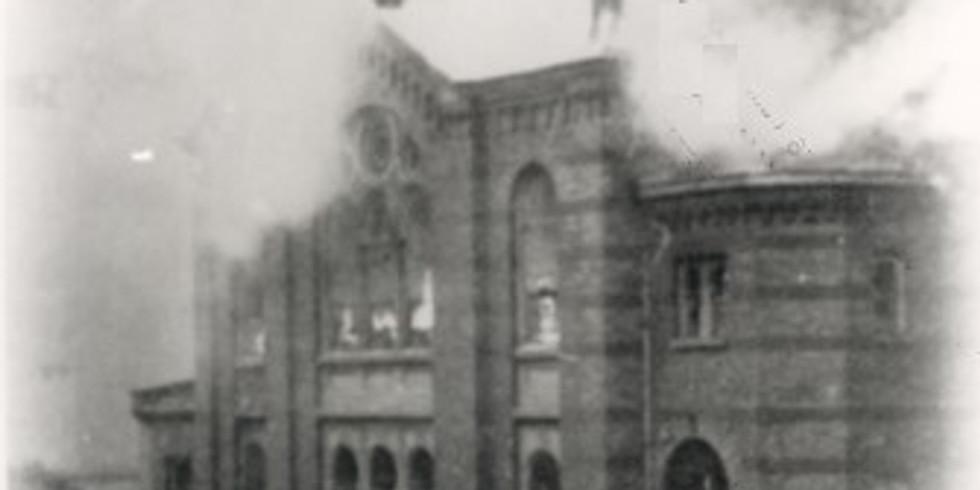 Gedenkstunde zur Erinnerung an die Pogromnacht 1938
