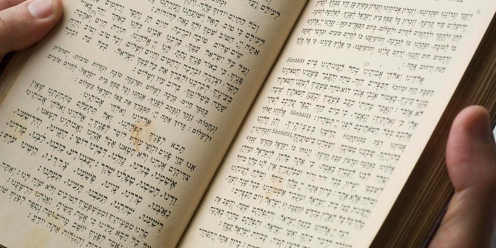 """Workshop """"Das jüdische Gebet"""""""