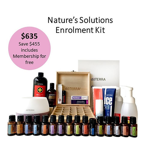 Nature's Solutions Enrolment Kit Image F