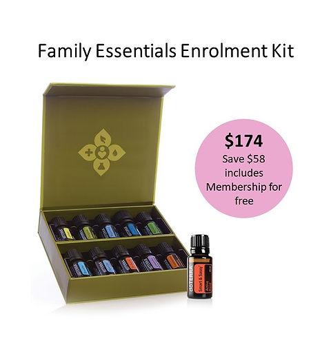 Family Essentials Enrolment Kit Image Fi