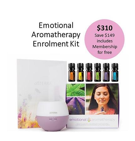 Emotional Aromatherapy Enrolment Kit Ima