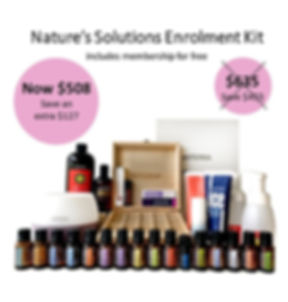20% Nature's Solutions Enrolment Kit Ima