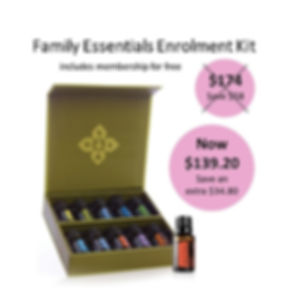 20% Family Essentials Enrolment Kit Imag