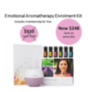 20% Emotional Aromatherapy Enrolment Kit