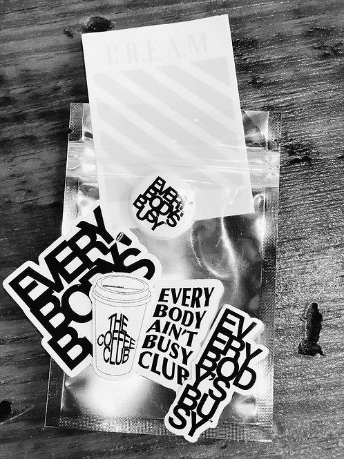 Sticker & Button Set