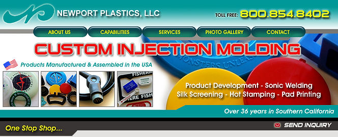 Newport Plastics | Home - Custom Injection Molding