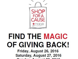 MACY'S SHOP FOR A CAUSE- USA
